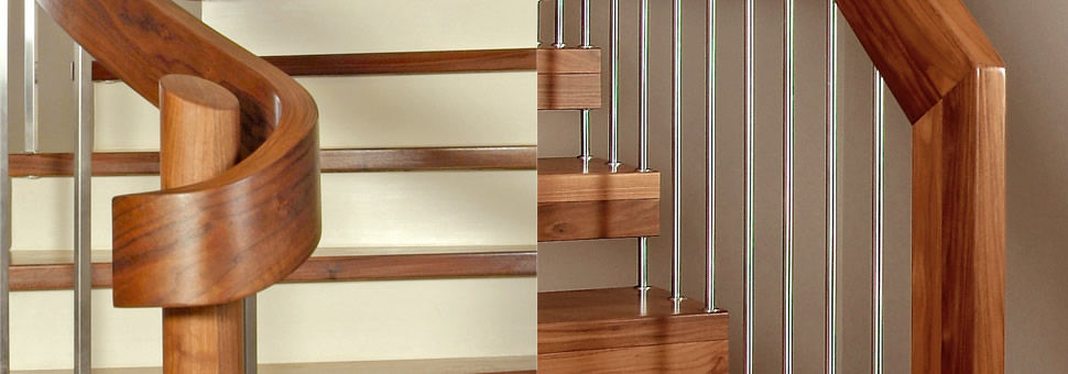Деревянные лестницыВеликолепные деревянные лестницы из Германии